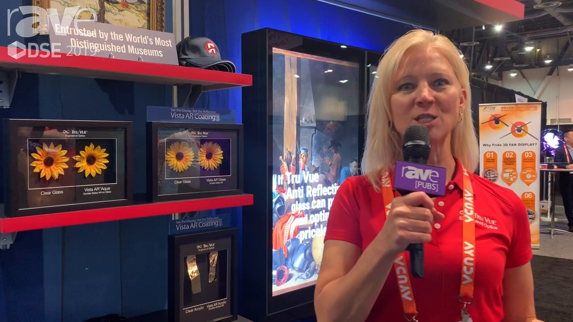 DSE 2019: Tru Vue Demos Vista AR Glass With Reduced Glare