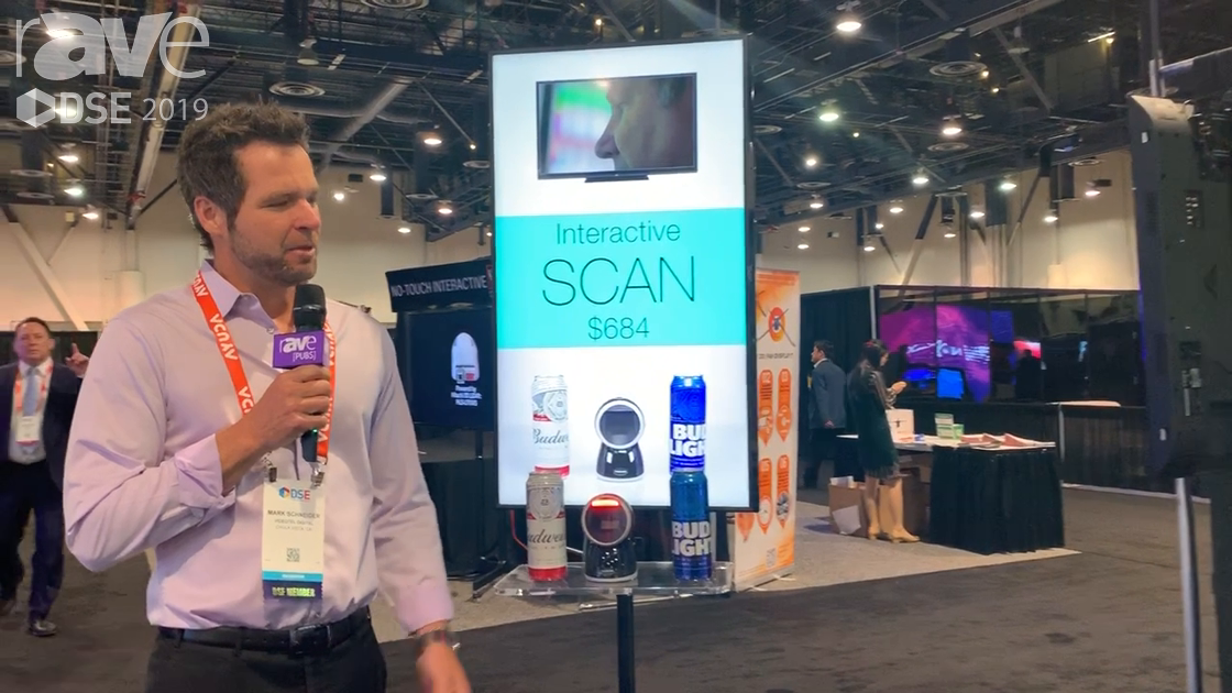 DSE 2019: Videotel Demos SCAN Interactive Barcode and Scanner