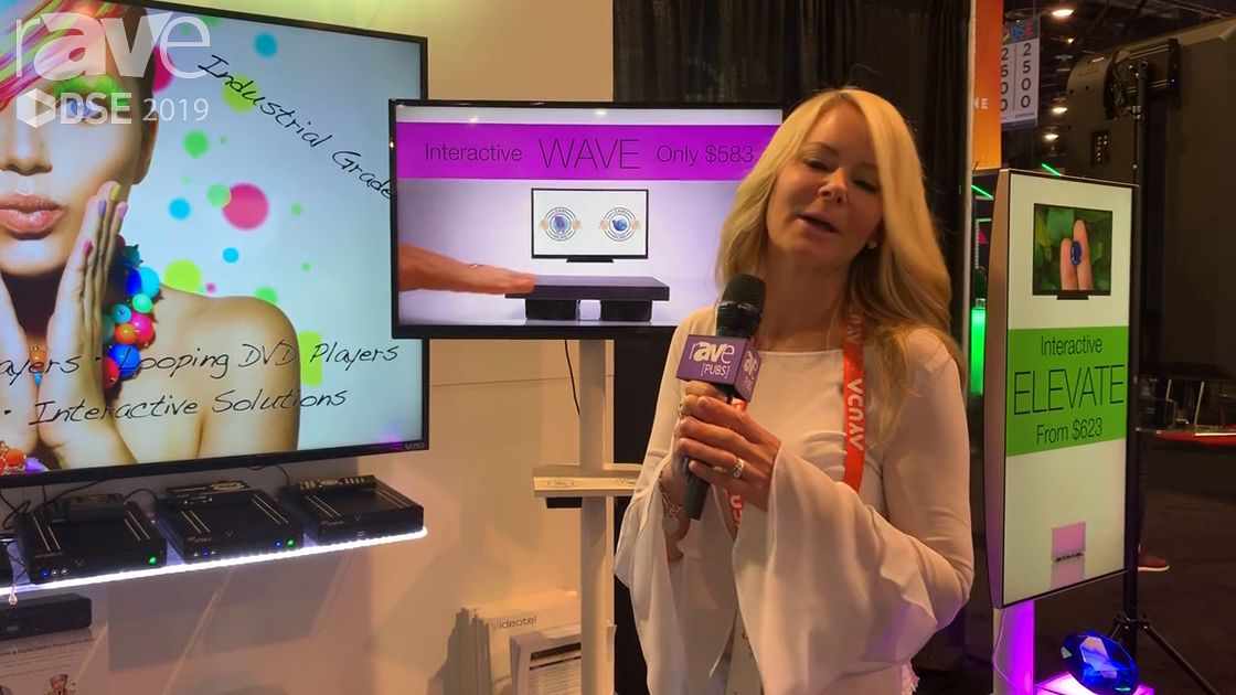 DSE 2019: Videotel Demos Its Interactive, Gesture-Based WAVE Solution