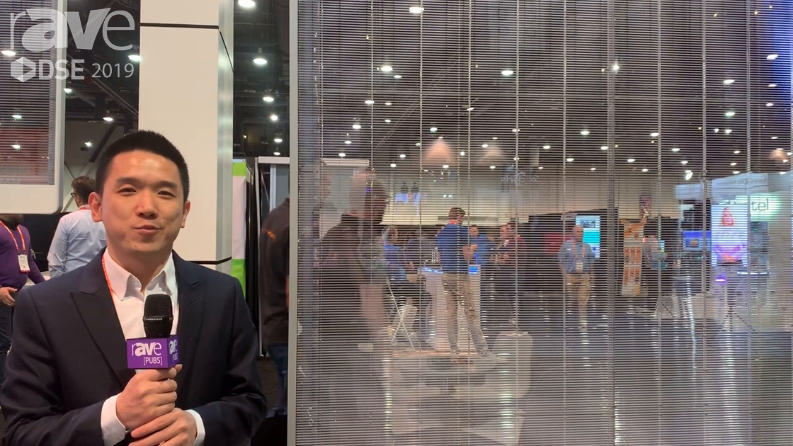 DSE 2019: Yipled Exhibits Its LED-Based Transparent Jade Screen