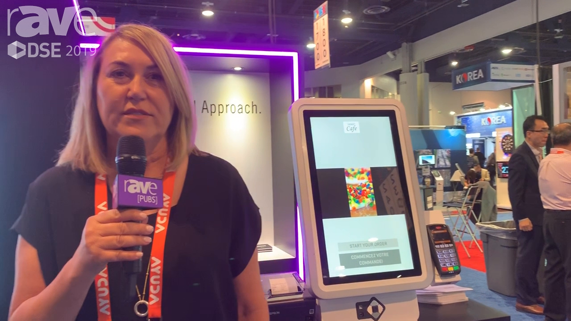 DSE 2019: Zivelo Features the X2 Countertop Kiosk