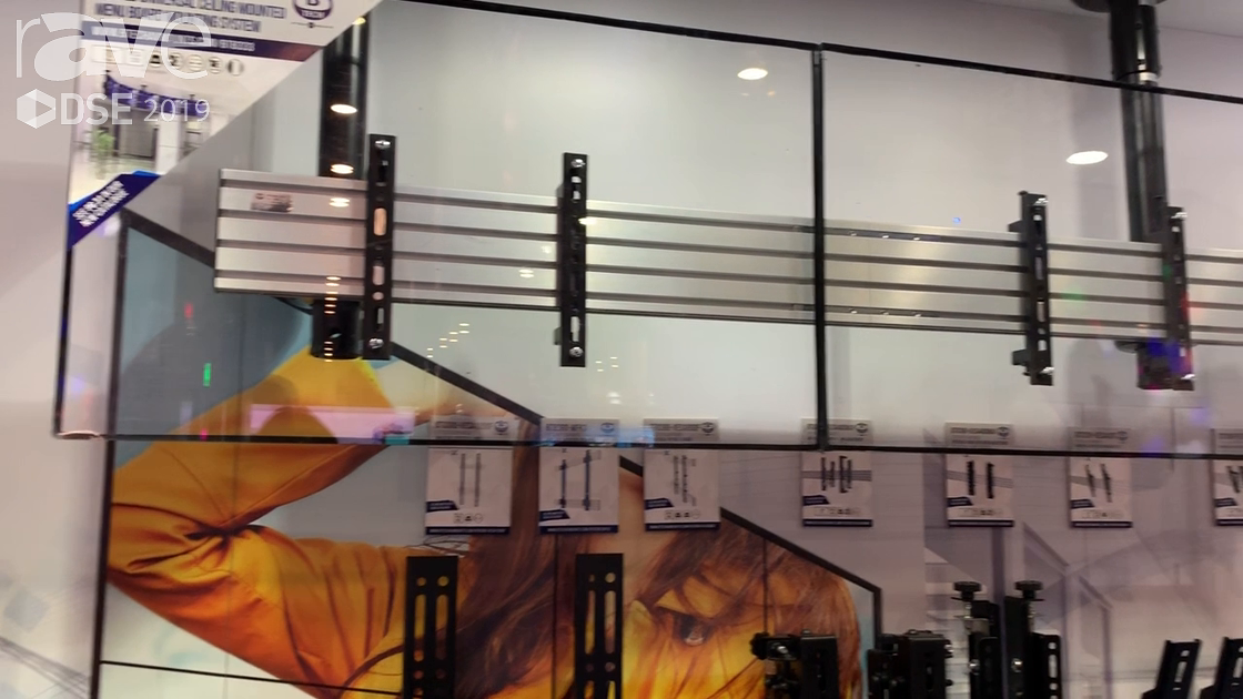 DSE 2019: B-Tech AV Mounts Features Its System X Range for Multi Display Solutions
