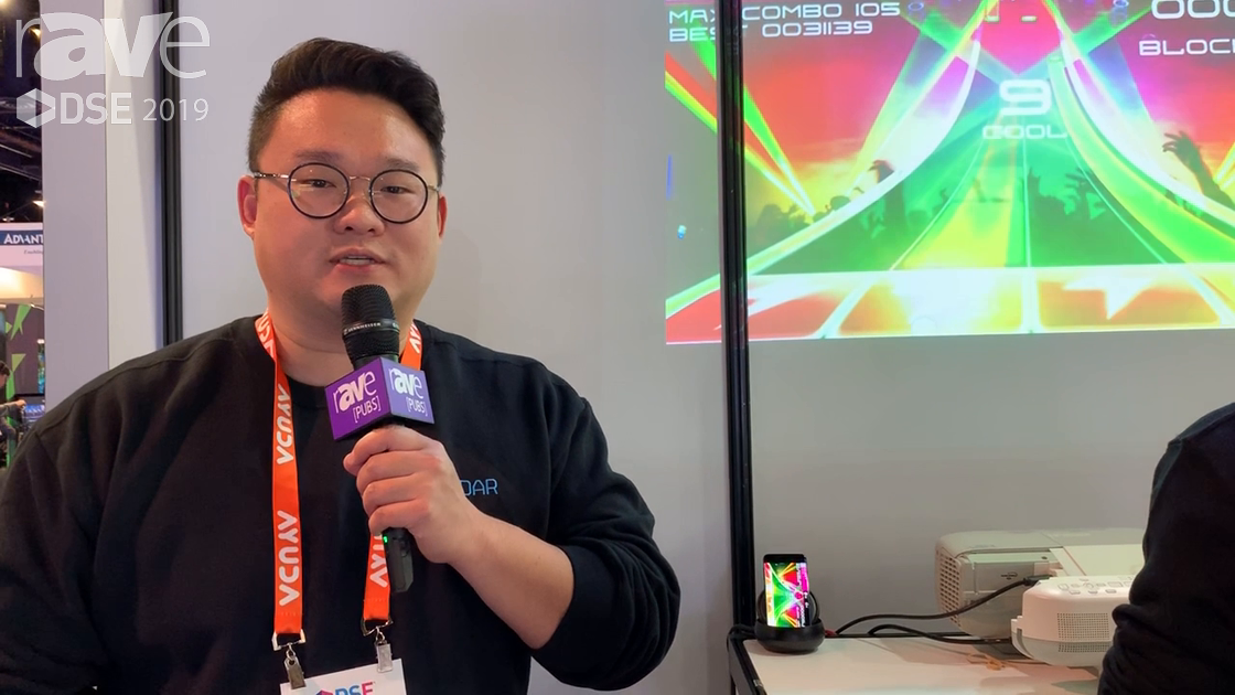 DSE 2019: Korean Company CoreDAR Demos Gesture-Based Gaming Using T-LiDAR Technology