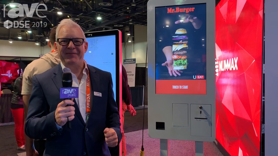 DSE 2019: Nummax Showcases Its Multi Kiosk, Can Be Floor-, Wall-, Ceiling- or Flag-Mounted