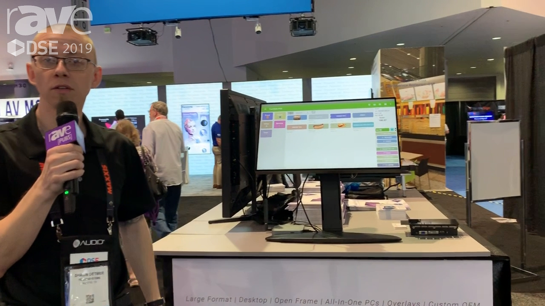 DSE 2019: Touch Systems Showcases EX241UN-TSP 24″ NEC Display Monitor With PCAP Touch