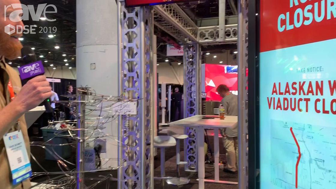 DSE 2019: Display Devices Intros IKE (Interactive Kiosk Experience) Smart City Wayfinding Kiosk