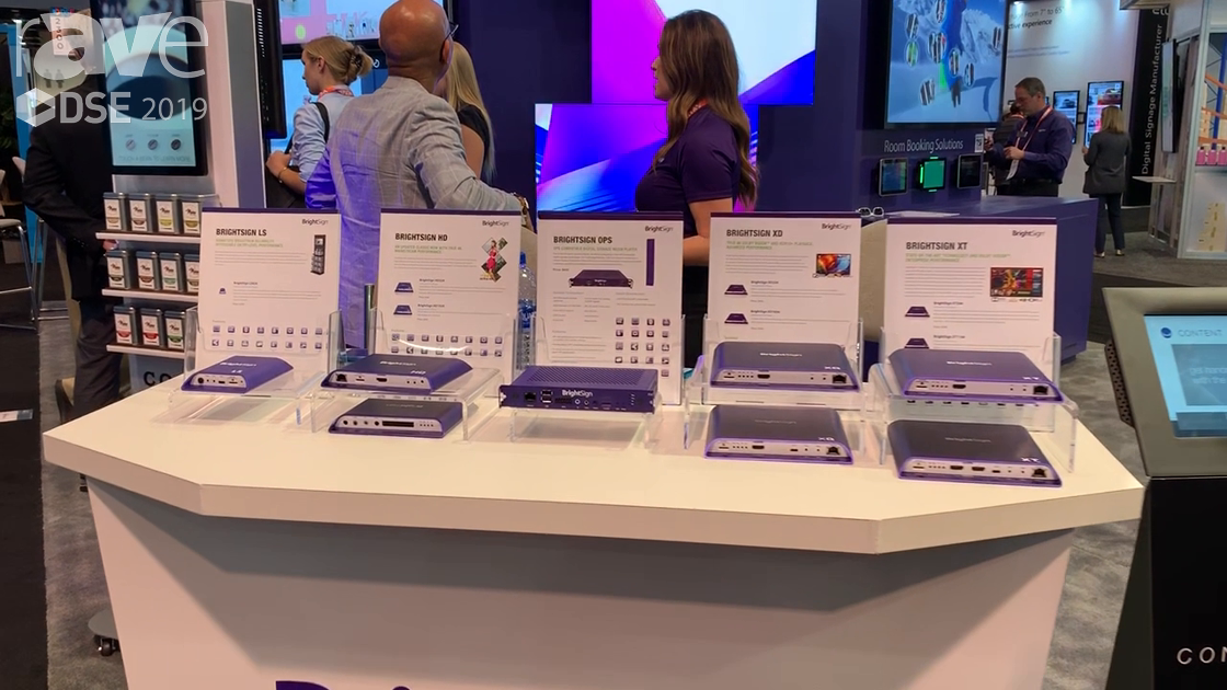 DSE 2019: BrightSign Introduces the Series 4 Extended Thermal Range of DS Players