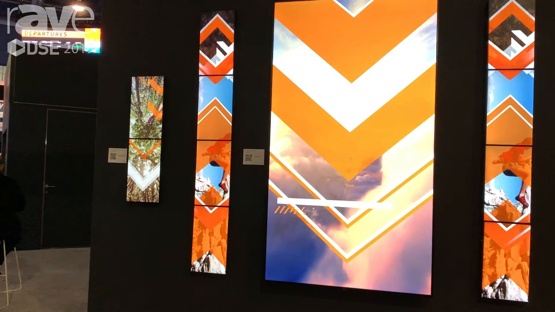 DSE 2019: NEC Display Demos Mosaic Video Wall Using EX241UN and V984Q Displays