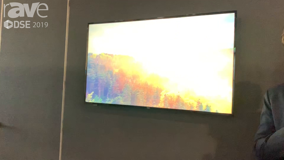DSE 2019: NEC Display Showcases Its 7th Generation E 507Q Display, Now 4K and with LAN Communication