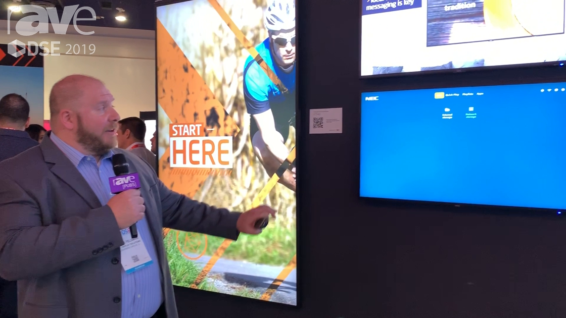 DSE 2019: NEC Display Features Its SoC Raspberry-Pi Integrated Media Player
