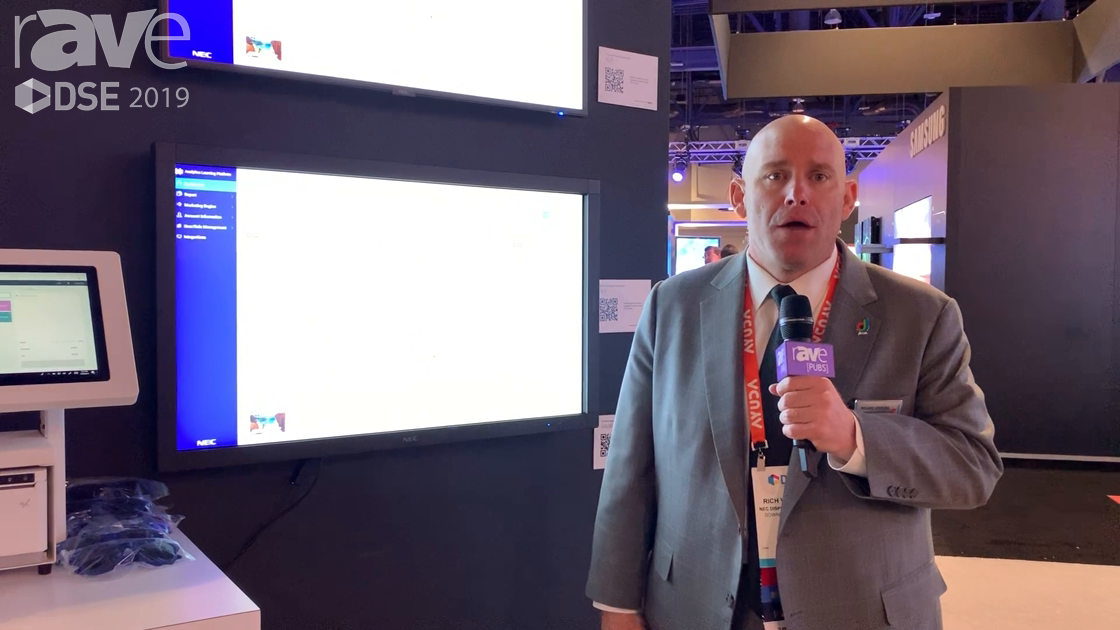 DSE 2019: NEC Display Explains ALP Pro, Which Adds Artificial Intelligence to Analytics
