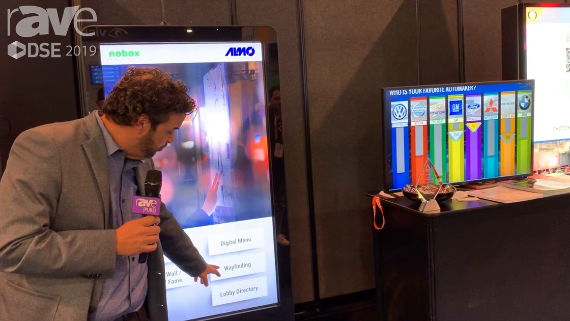 DSE 2019: Almo Pro AV Showcases Its Content Templates for Digital Signage