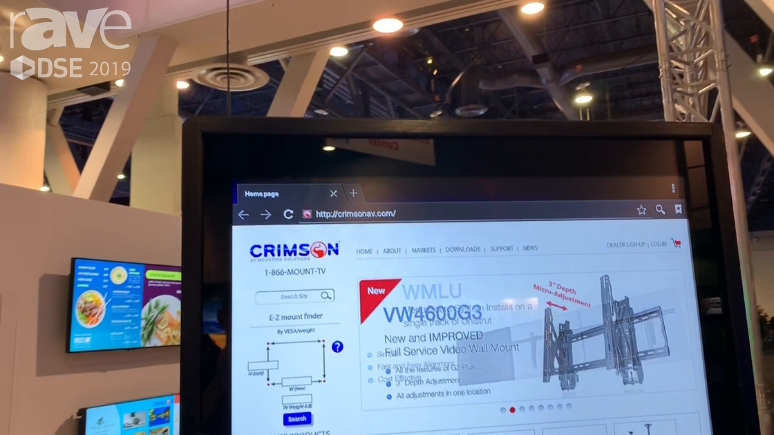 DSE 2019: Crimson AV Intros New All-In-One Kiosk