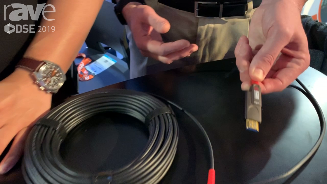 DSE 2019: Rose Electronics Features Its CrystalView Active Optical Cable