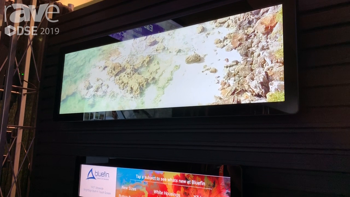 DSE 2019: Bluefin International Shows Off Ultra-Wide Displays for Digital Signage