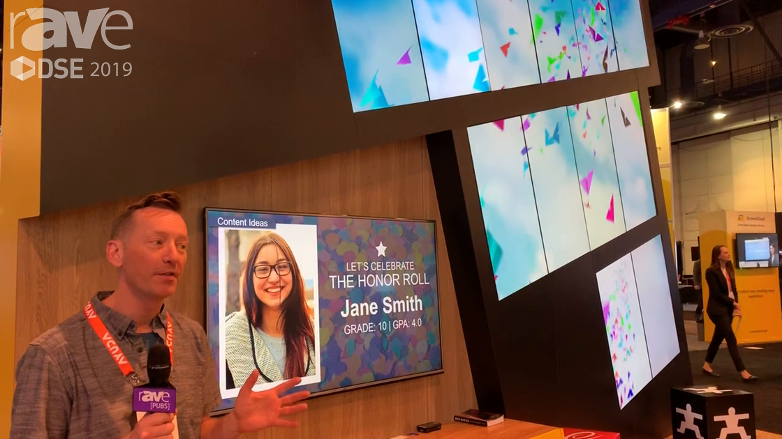 DSE 2019: Carousel Digital Signage Shows Carousel Cloud Hosted Digital Signage CMS
