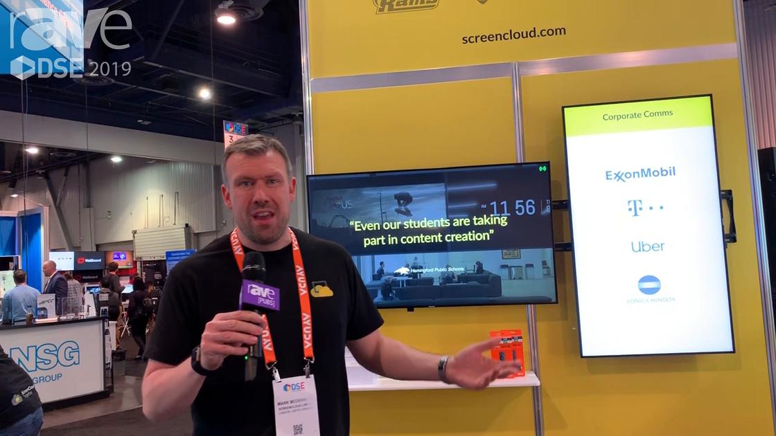 DSE 2019: ScreenCloud, a SaaS DS Platform, Talks About Enterprise Layer of CMS