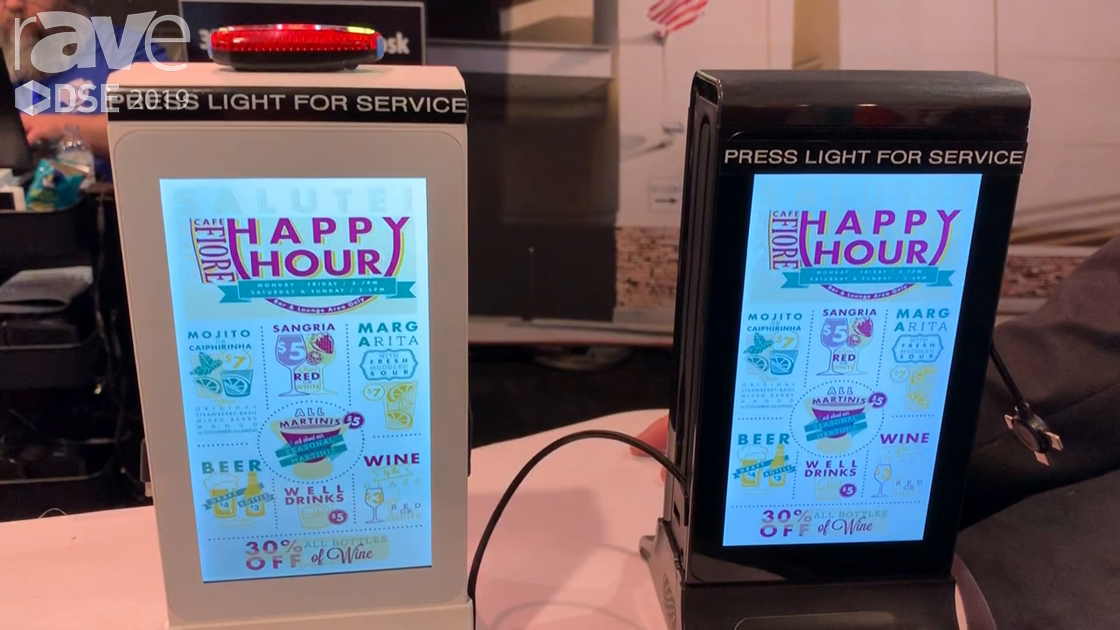 DSE 2019: Mirage Vision Talks About Mini Tabletop Kiosk With Mobile Phone Charging