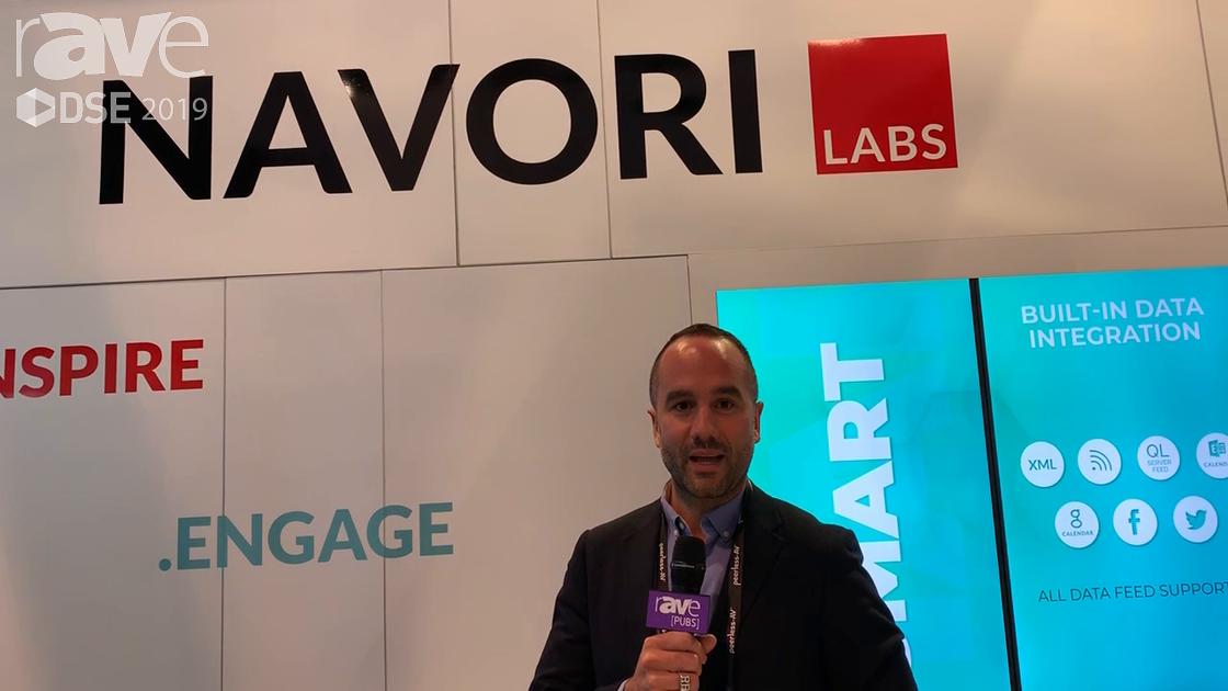 DSE 2019: Navori Features Navori QR Manager 2.1, Navori QL IPR 8K Videowall