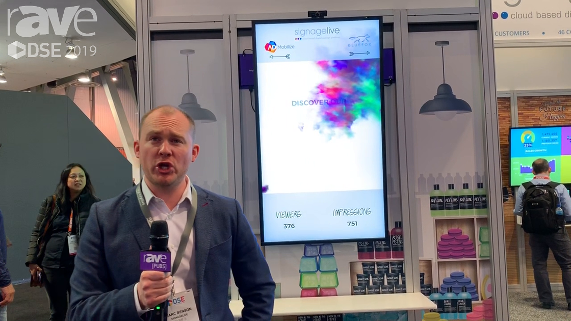 DSE 2019: SignageLive Takes Customers on a Journey With CMS With BlueFox Integration