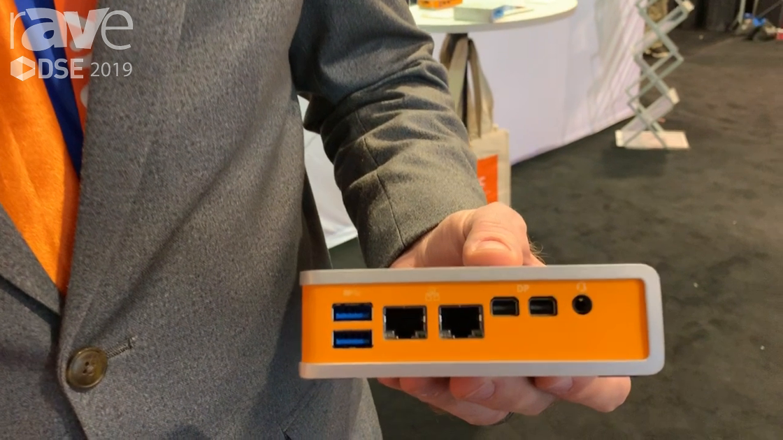 DSE 2019: Logic Supply Talks About Its CL210 Media Player