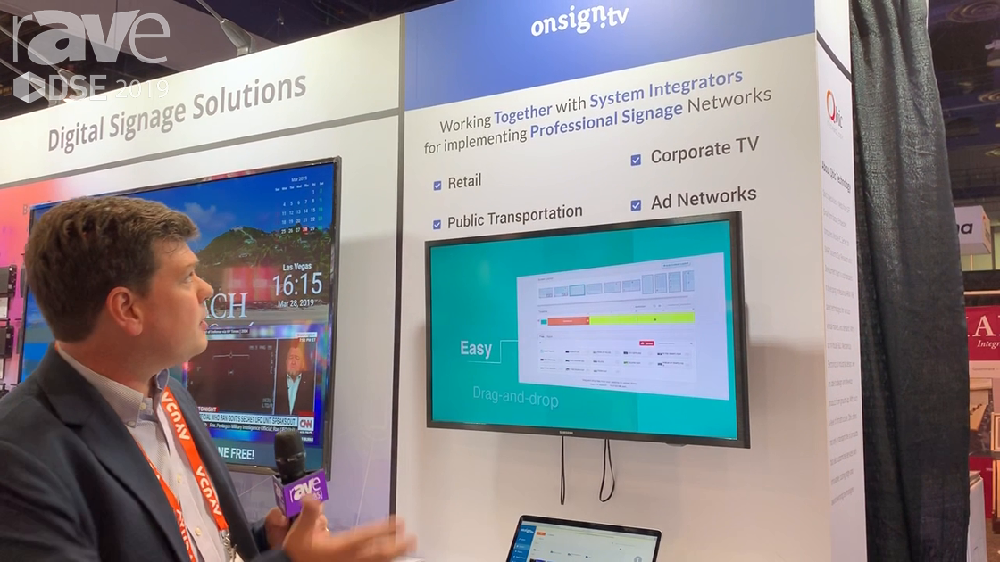 DSE 2019: Onsign.tv Showcases CMS Platform for Public Transportation