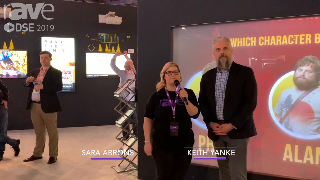 DSE 2019: Sara Abrons Gets a Tour of NEC Display from Director of Product Marketing Keith Yanke