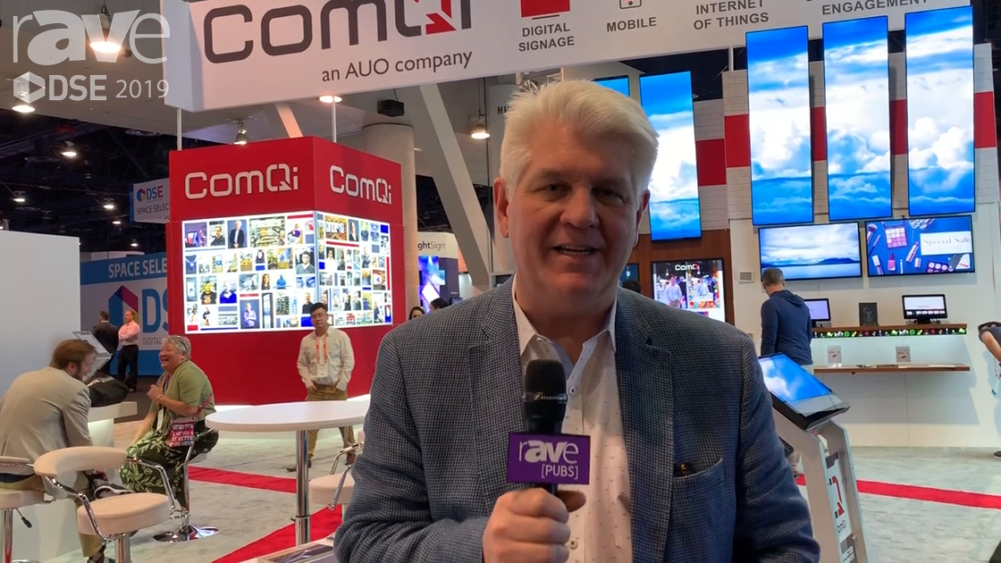 DSE 2019: ComQi Showcases Takeover for Retail Stores