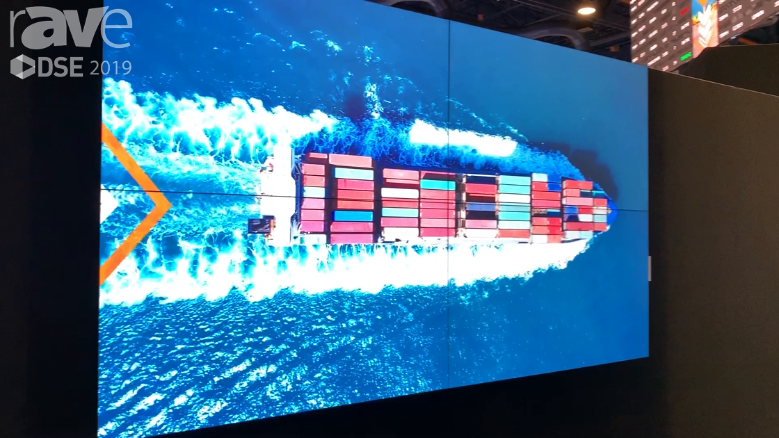 DSE 2019: NEC Display Highlights Its UN552S 55-Inch Ultra-Narrow Bezel Video Wall Display
