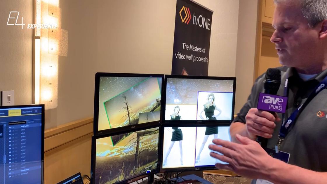 E4 Experience: tvONE Presents CORIOmaster Multi-Window Video Processor and CORIOgrapher v2 Software