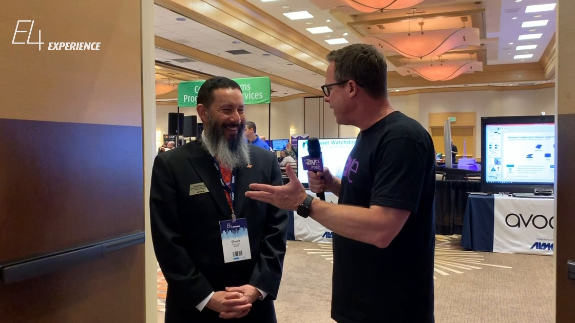 E4 Experience: Gary Kayye Interviews AVIXA's Chuck Espinoza About InfoComm and Education