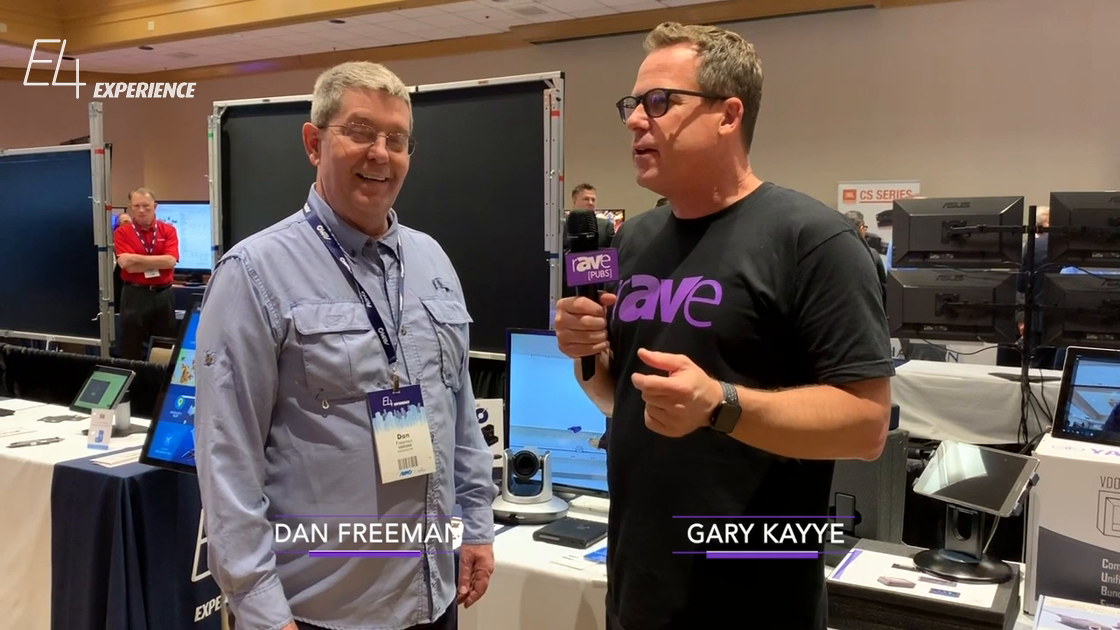 E4 Experience: Gary Kayye Talks to VDO360's Dan Freeman About the VDO Cube, a Zoom Room Product