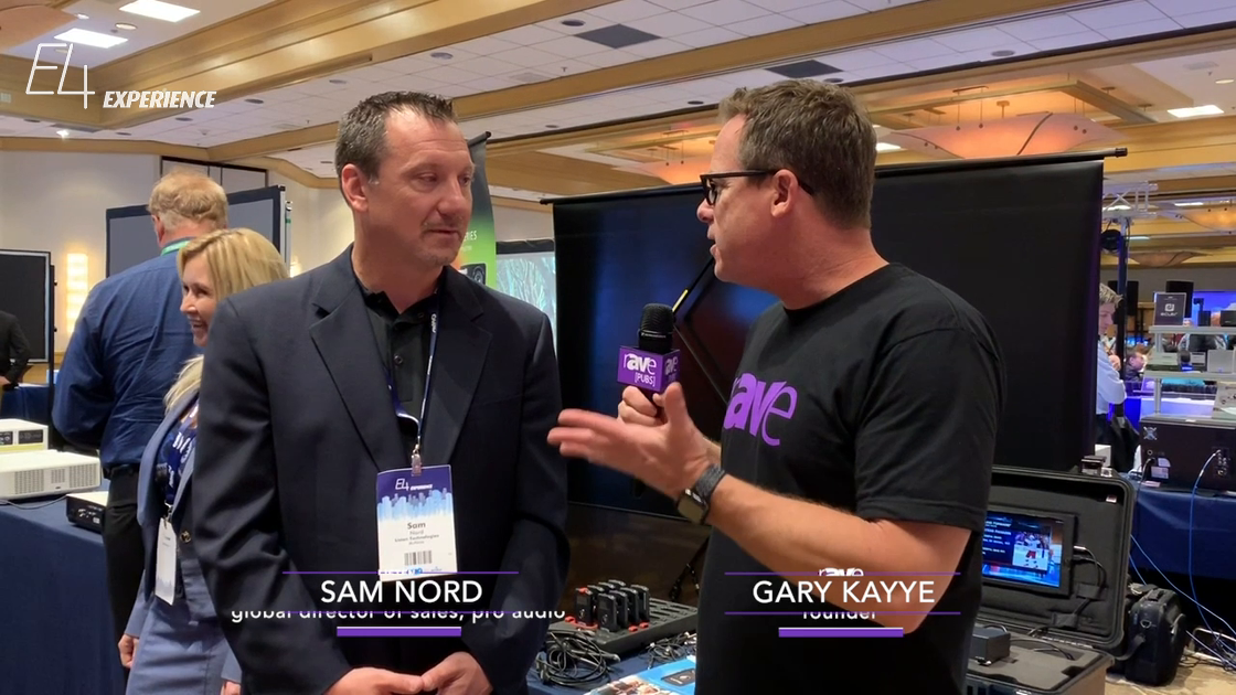 E4 Experience: Sam Nord of Listen Technologies Gives Gary Kayye an Overview of ListenTALK