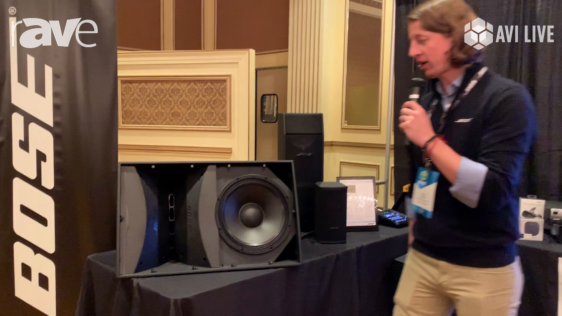 AVI LIVE: Bose Professional Presents ArenaMatch Speaker for Indoor and Outdoor Applications