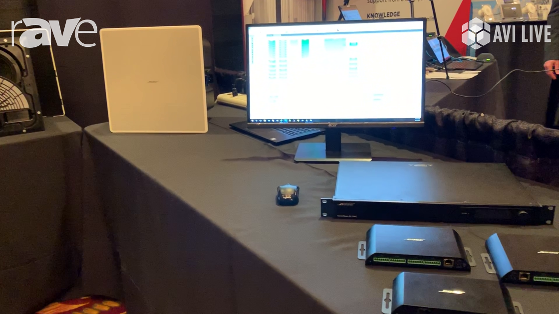 AVI LIVE: Bose Professional Shows ControlSpace EX1280C, Table Boxes and EdgeMax Speakers