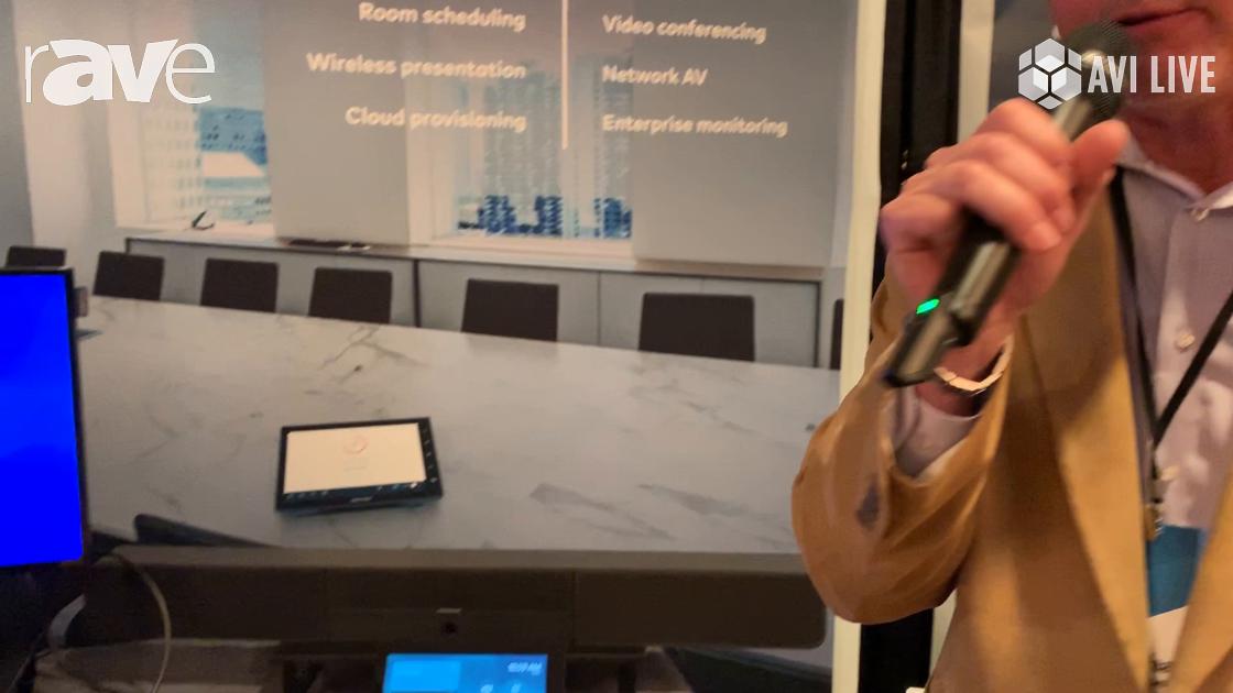 AVI LIVE: Crestron Features New Crestron Flex Series of Collaboration Devices