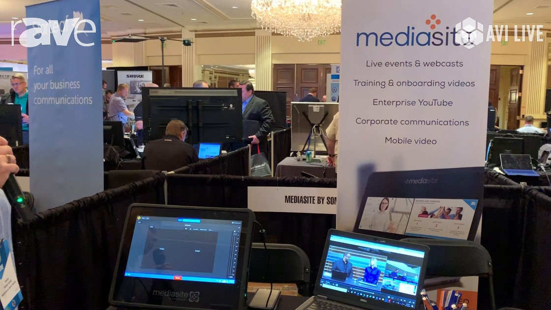 AVI LIVE: SonicFoundry Showcases Mediasite Join, an Automated Video Conferencing Capture Solution