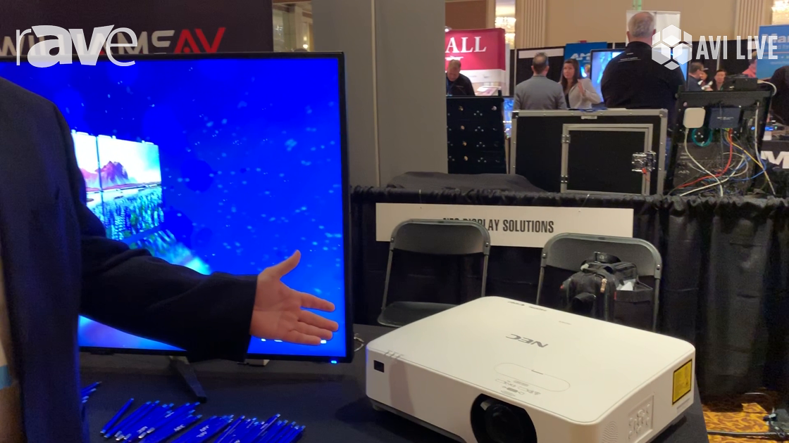 AVI LIVE: NEC Display Showcases Laser Projectors with Full Connectivity and Built-In HDBaseT