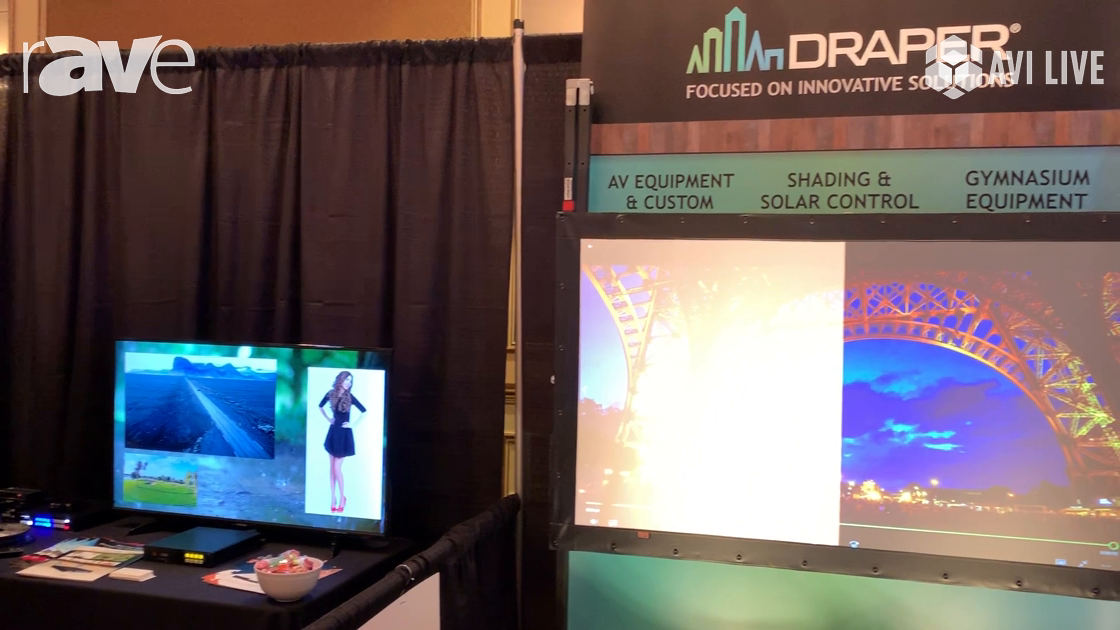 AVI LIVE: Draper Presents TecVision Ambient Light Rejecting Screen