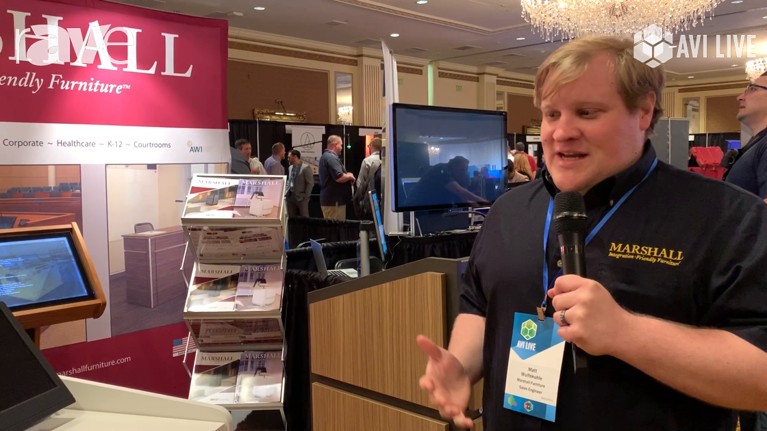 AVI LIVE: Marshall Furniture Presents Elco-ADA-36 Lecture System