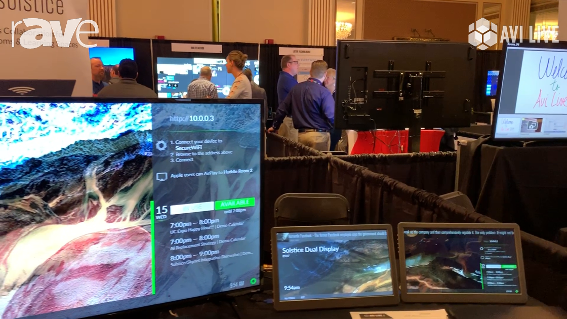 AVI LIVE: Mersive Technologies Showcases Solstice Wireless Collaboration System