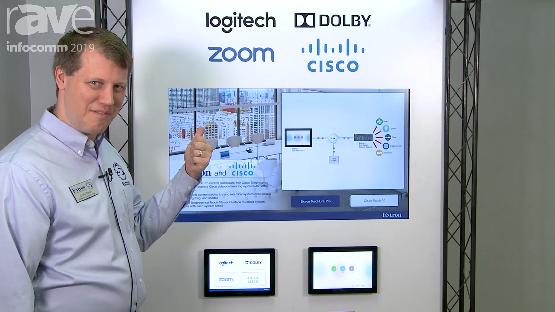 InfoComm 2019: Extron Talks About Its UCC Partnerships With Logitech, Dolby, Zoom and Cisco