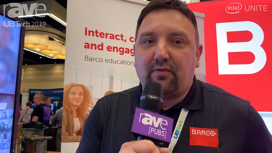 UB Tech 2019: Barco Talks about weConnect Virtual Classroom for Virtual Learners