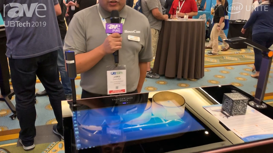 UB Tech 2019: HoverCam Showcases New Battery-Powered HoverCam Pilot 5 Mobile Lectern System