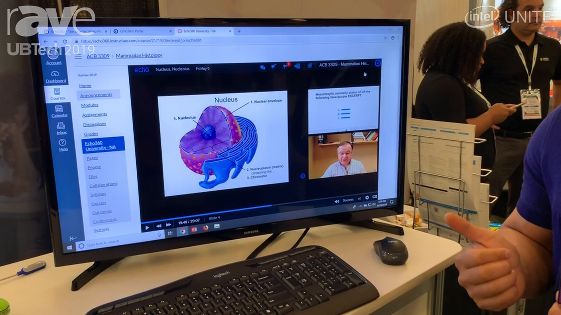 UB Tech 2019: Echo 360 Demos Its Video Platform for Education