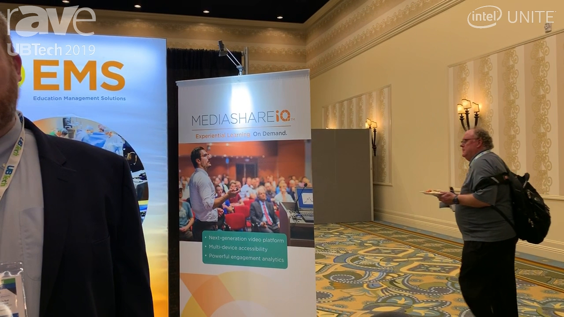 UB Tech 2019: Education Management Solutions Shows MediaShareIQ Lecture Lapture/Video Management
