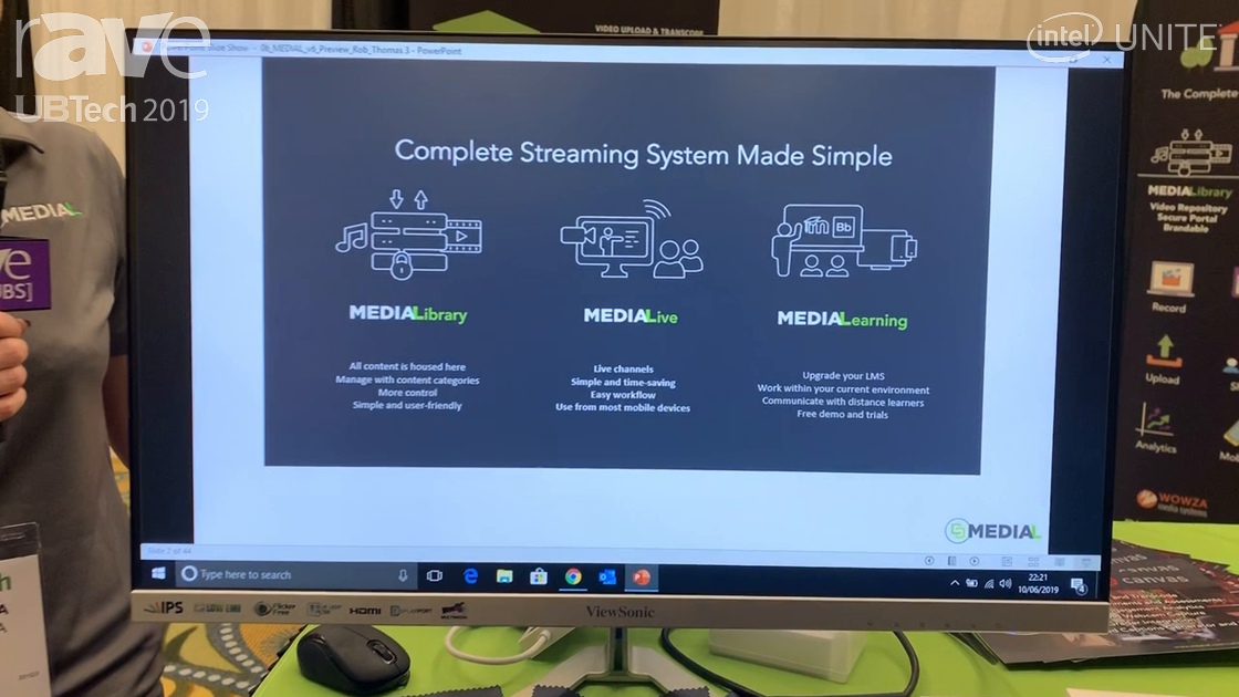 UB Tech 2019: MEDIAL Offers Complete Video Streaming System