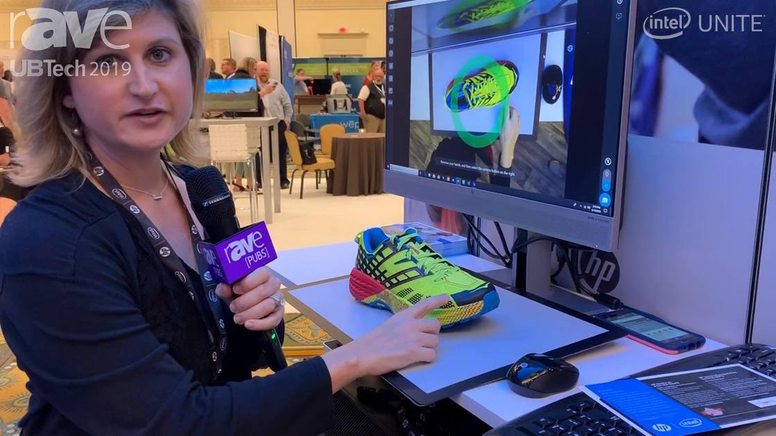 UB Tech 2019: HP Demos Z 3D Camera Scanner