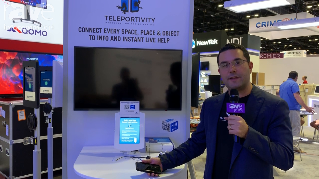 InfoComm 2019: Teleportivity Is Live Cloud Video Helpdesk, Support Communication Platform