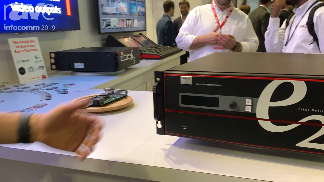 InfoComm 2019: Barco Offers E2 Gen2 Event Master With Increased Back Plane Capacity, EX Tri Combo